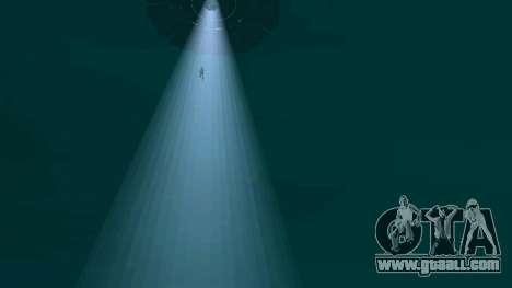 UFO over San Andreas for GTA San Andreas ninth screenshot