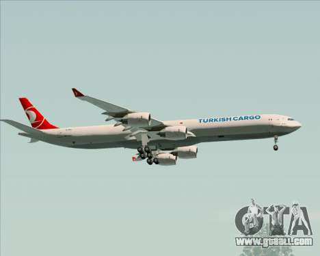 Airbus A340-600 Turkish Cargo for GTA San Andreas side view