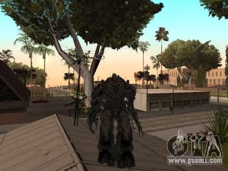 Transformers 3 Dark of the Moon Skin Pack for GTA San Andreas sixth screenshot