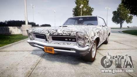 Pontiac GTO 1965 Sharpie for GTA 4