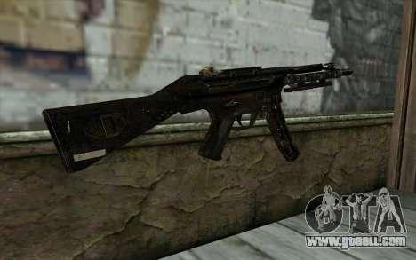 MP5 for GTA San Andreas second screenshot