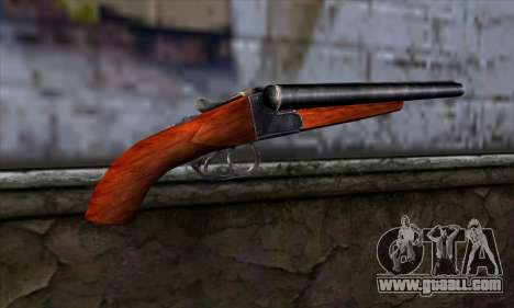 Sawnoff Shotgun for GTA San Andreas second screenshot