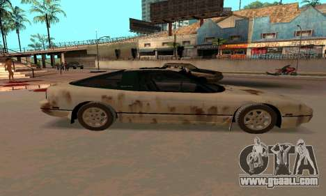 Nissan 240SX Rusted for GTA San Andreas left view