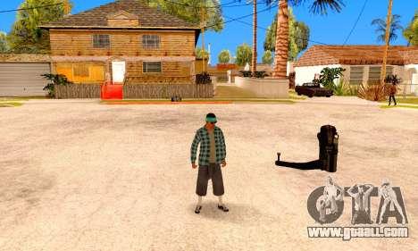 Varios Los Aztecas for GTA San Andreas fifth screenshot