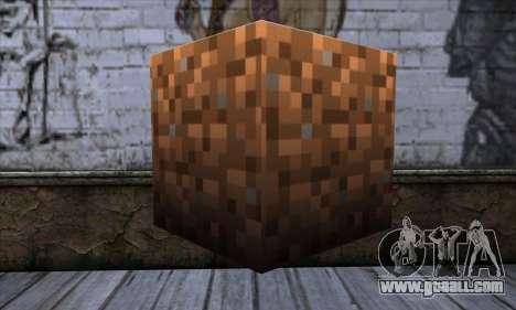 Block (Minecraft) v9 for GTA San Andreas second screenshot