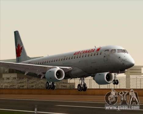 Embraer E-190 Air Canada for GTA San Andreas