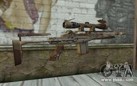 M14 EBR Chipdesert for GTA San Andreas second screenshot
