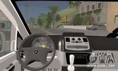 Mercedes-Benz Vito Vip for GTA San Andreas back left view