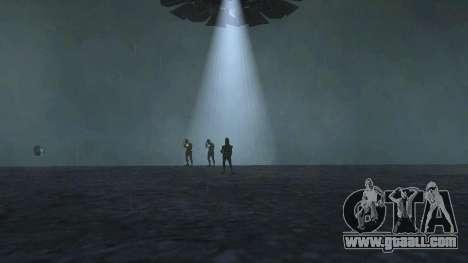 UFO over San Andreas for GTA San Andreas fifth screenshot
