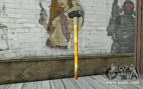 Sledge Hammer for GTA San Andreas second screenshot