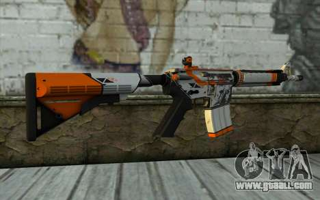 M4A4 from CS:GO for GTA San Andreas second screenshot