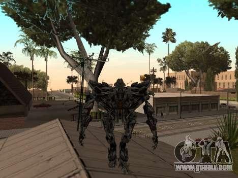 Transformers 3 Dark of the Moon Skin Pack for GTA San Andreas seventh screenshot