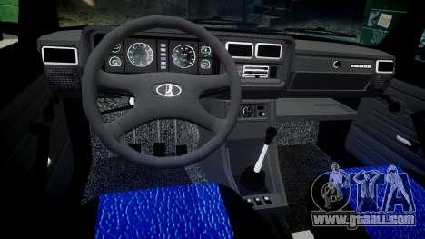 VAZ-2107 best model for GTA 4 inner view