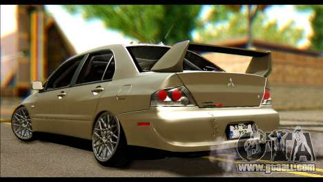 Mitsubishi Lancer Evolution IX JDM for GTA San Andreas left view