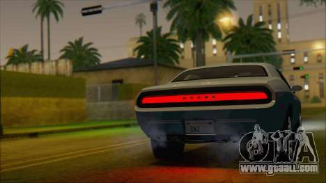 Dodge Challenger Concept for GTA San Andreas left view