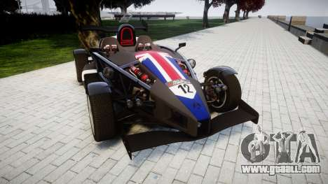 Ariel Atom V8 2010 [RIV] v1.1 S&A for GTA 4