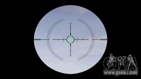 Автомат P416 ACOG silencer PJ1 target for GTA 4 third screenshot