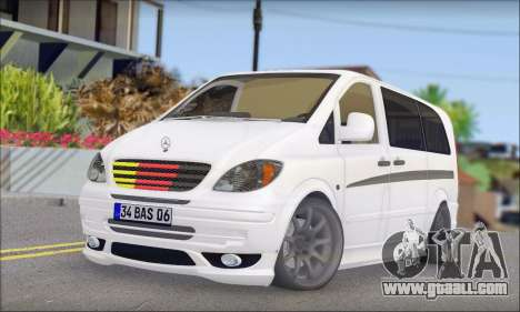 Mercedes-Benz Vito Vip for GTA San Andreas