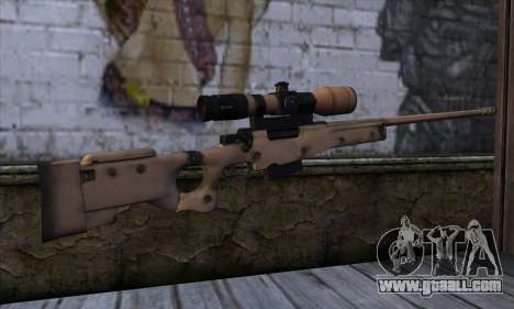 L11A3 Sniper Rifle for GTA San Andreas second screenshot