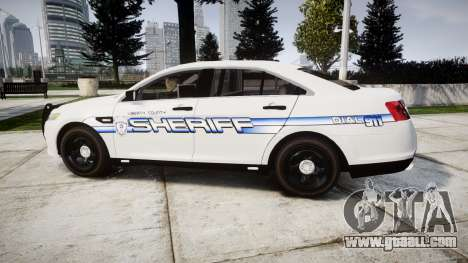 Ford Taurus 2014 [ELS] Liberty County Sheriff for GTA 4 left view