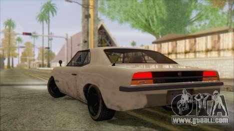 GTA 5 Vigero for GTA San Andreas left view