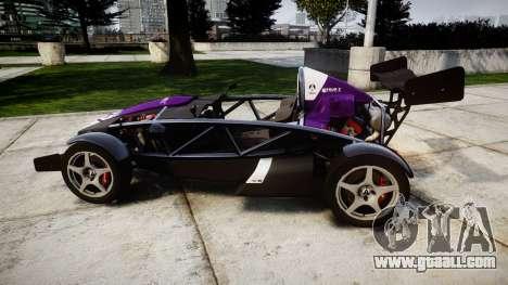 Ariel Atom V8 2010 [RIV] v1.1 FOUR C Motorsport for GTA 4 left view