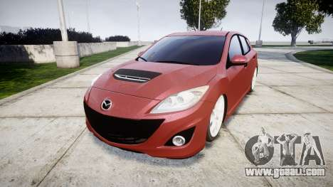 Mazda 3 MPS for GTA 4
