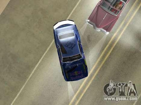 Chevrolet Camaro SS RedBull for GTA San Andreas back view