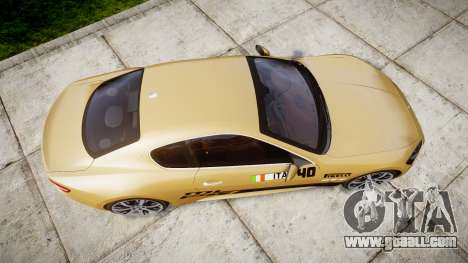 Maserati GranTurismo S 2010 PJ 1 for GTA 4