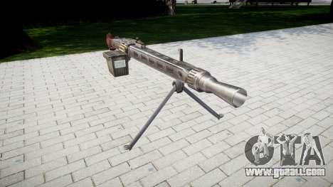 German MG3 machine gun icon3 for GTA 4