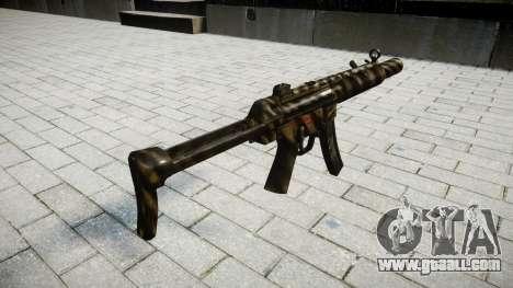 Gun MP5SD NA FS for GTA 4 second screenshot