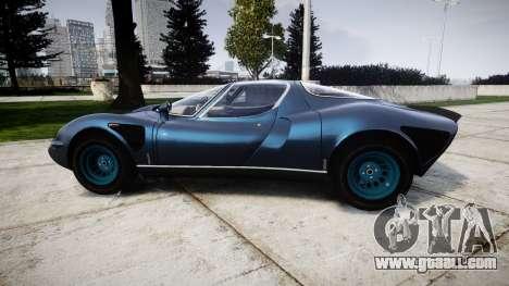 Alfa Romeo 33 Stradale for GTA 4 left view