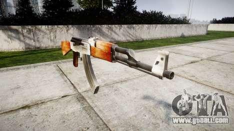 The AK-47 HD for GTA 4