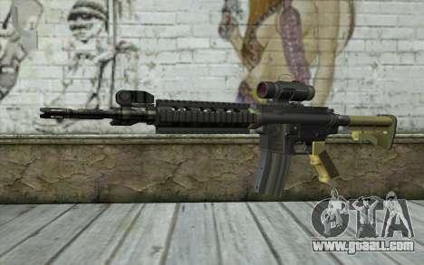 M4 MGS Iron Sight v2 for GTA San Andreas