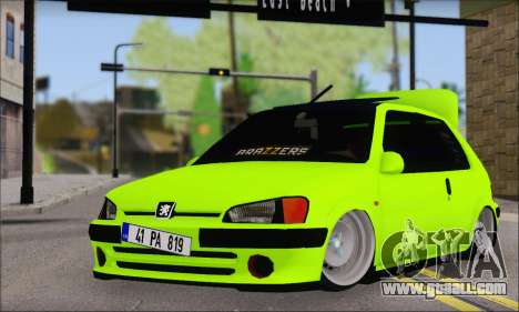 Peugeot 106 GTI JDM STYLE for GTA San Andreas