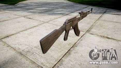The AK-47 Grey for GTA 4 second screenshot