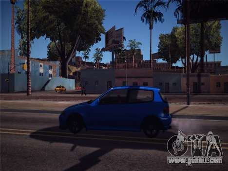 Honda Civic JDM Edition for GTA San Andreas back left view