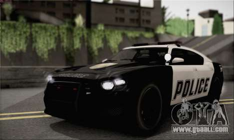 Bravado Buffalo S Police Edition (HQLM) for GTA San Andreas