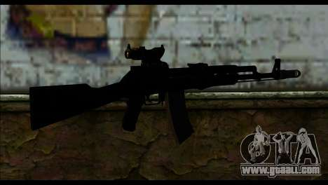AK-101 ACOG for GTA San Andreas second screenshot
