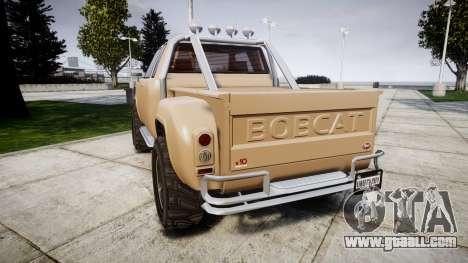 Vapid Bobcat Desert for GTA 4 back left view