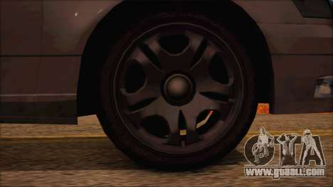 GTA 5 Intruder for GTA San Andreas back left view