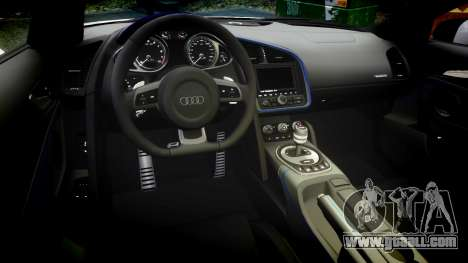 Audi R8 LMX 2015 [EPM] Carbon Series for GTA 4 inner view