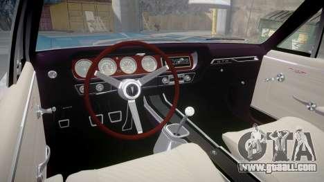 Pontiac GTO 1965 Sharpie for GTA 4 back view
