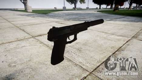 Gun HK Mk.23 for GTA 4 second screenshot