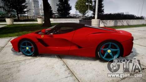 Ferrari LaFerrari 2014 [EPM] for GTA 4 left view