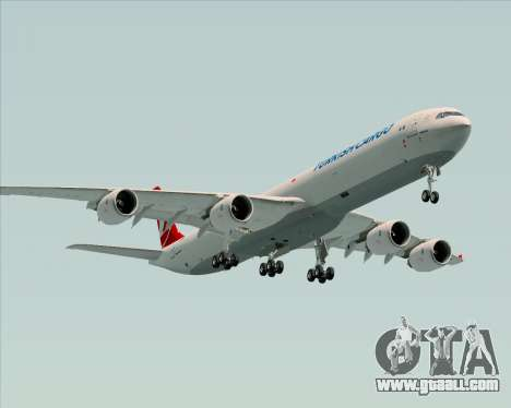Airbus A340-600 Turkish Cargo for GTA San Andreas engine