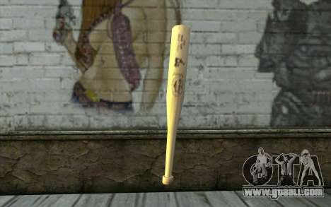 Baseball Bat from GTA Vice City for GTA San Andreas