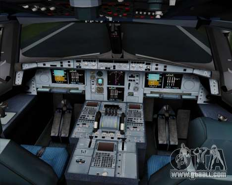 Airbus A380-800 Hainan Airlines for GTA San Andreas interior