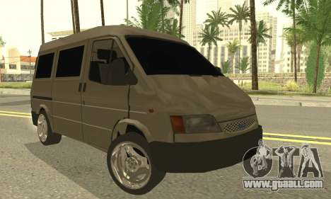 Ford Transit 1997 Medium Roof for GTA San Andreas