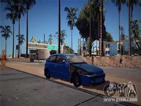 Honda Civic JDM Edition for GTA San Andreas